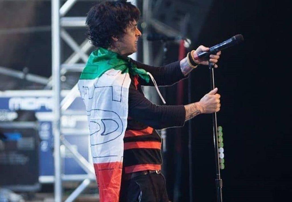Billie Joe dedica Italia