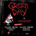 Green Day: rinviati al 2022 i concerti di Milano e Firenze