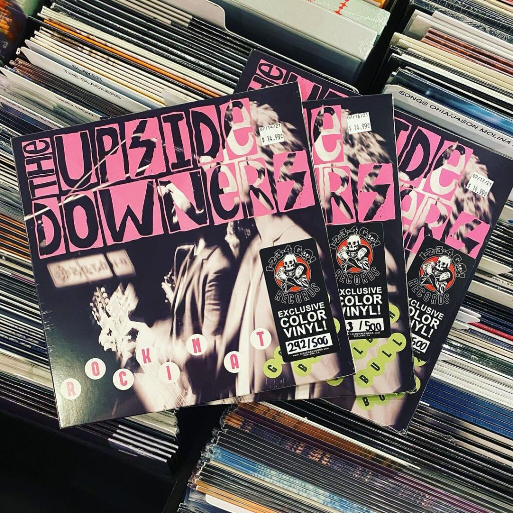 The Upside Downers EP Billie Joe Armstrong