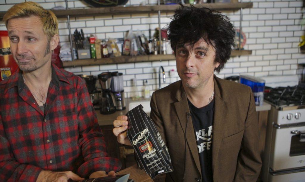 I Green Day presentano Oakland Coffe House